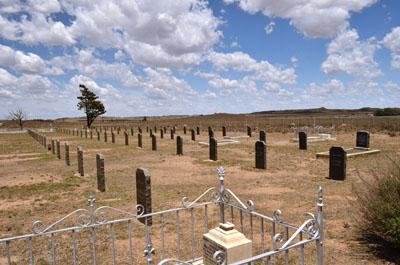 War cemetery Memorial at Springfontein