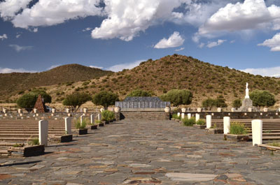 Concentration camp cemetery Memorial at Betulie