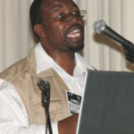 Mr Aggrey Mahanjane, of NERPO, speaking on the empowerment of black farmers