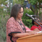Ms Patricia de Lille, Trustee of the Karoo Development Foundation, opening the Trade Fair