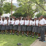 The Ncweba choir of Graaff-Reinet performed at the Opening Ceremony of the Karoo Trade Fair